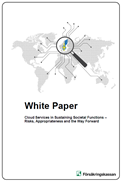 White Paper - Cloud Services in Sustaining Societal Functions - Risks, Appropriateness and the Way Forward